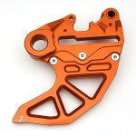N1M Aluminum Rear Disk Guard for motocross.