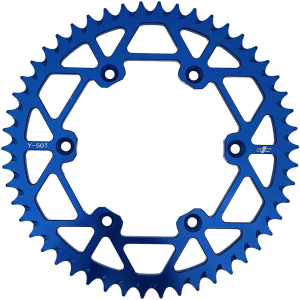 N1M 7075-T6 Aluminum Rear Sprocket Blue for Yamaha motocross