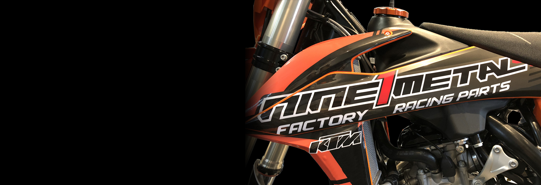 Nine1Metal Banner 2 Motocross KTM