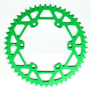 N1M 7075-T6 Aluminum Rear Sprocket Green for motocross