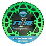N1M 7075-T6 Aluminum Rear Sprocket Green for motocross Package