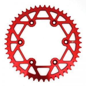 N1M 7075-T6 Aluminum Red for motocross