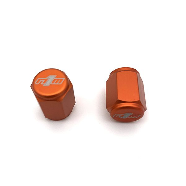 Valve Stem Cap - Universal - Orange