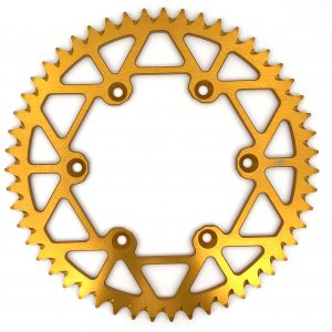 Nine1Metal Rear Sprocket Gold Suzuki